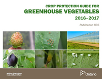 Publication 835 - Crop Protection Guide for Greenhouse Vegetable