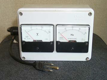 Voltage/Frequency Meter