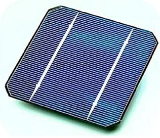 Single-crystal solar cell. Courtesy of Day4 Energy.