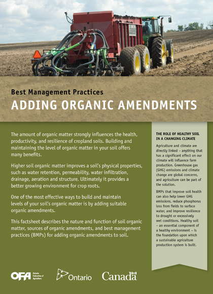 Adding Organic Amendments