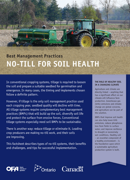 No-Till for Soil Health