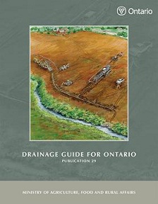 Drainage Guide for Ontario - Publication 29